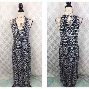 INC Embellished Empire Waist Maxi Dress